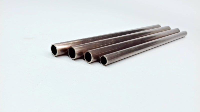 Tubo de cupro níquel para trocador de calor