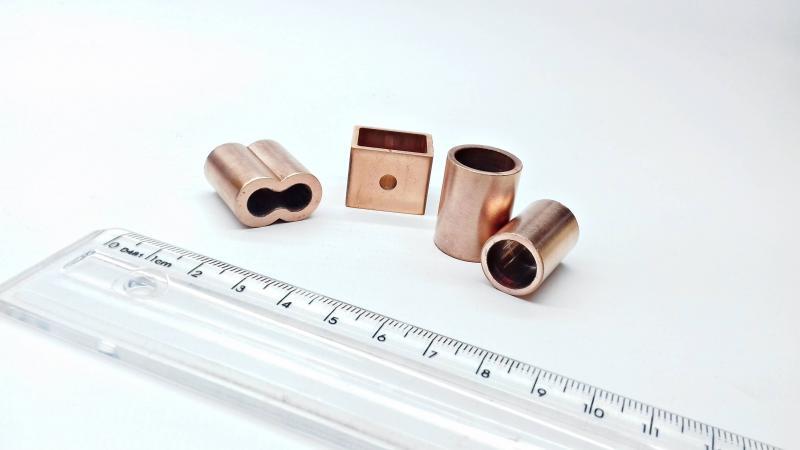 Usinagem de cobre