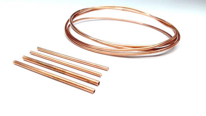 Microtubo de cobre
