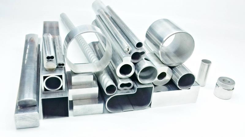 Tubo de alumínio trefilado