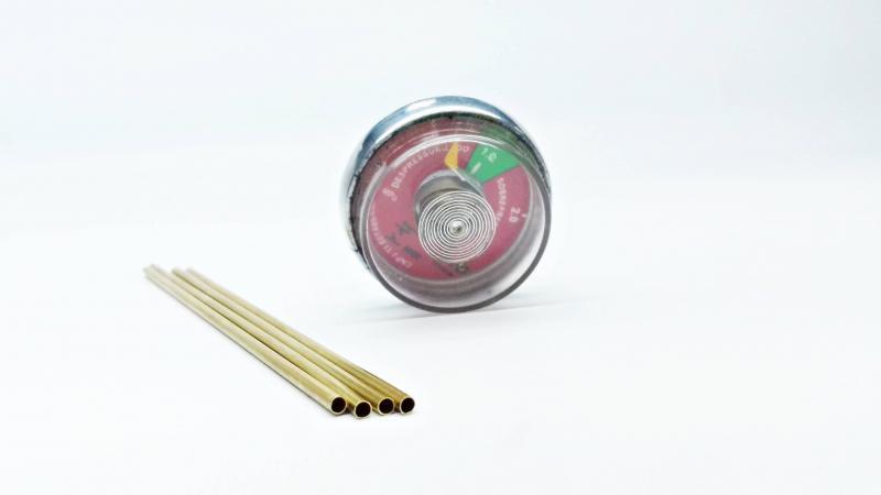 Tubo bourdon manômetro