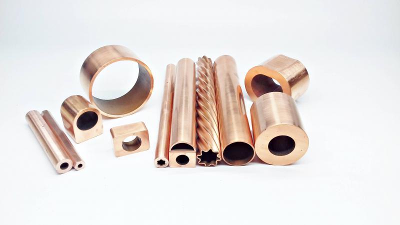 Tubo de cobre eletrolítico