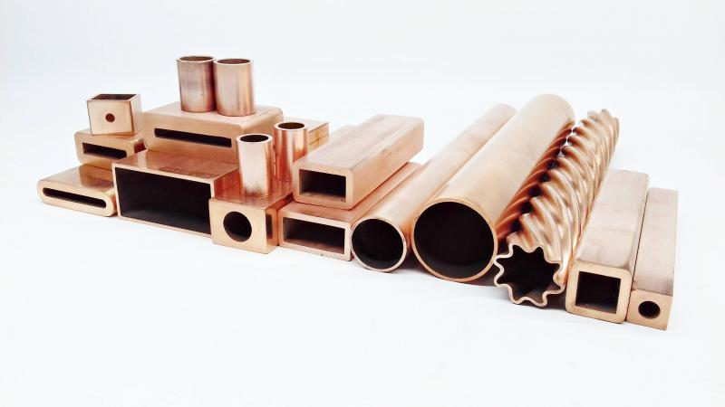 Tubo trefilado de cobre
