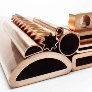 Trefilação de tubos de cobre